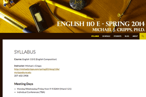 ENG110 Spring 2014