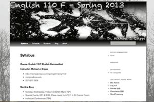 English Composition, Spring 2013